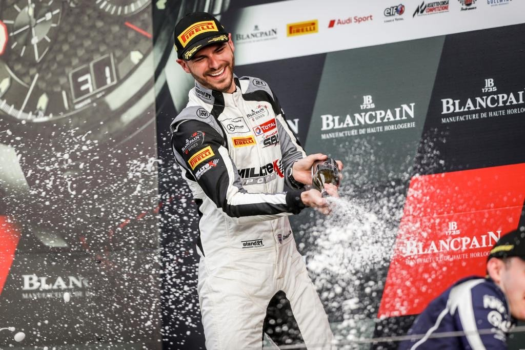 Onslow-Cole denied Blancpain GT Series Endurance Cup title
