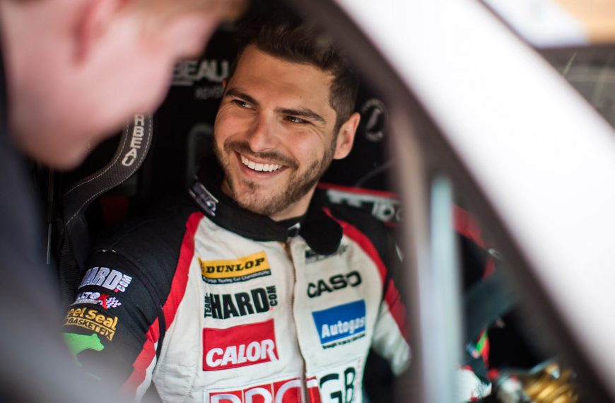 Tom Onslow-Cole makes Emotional return to Team HARD. in VW CC